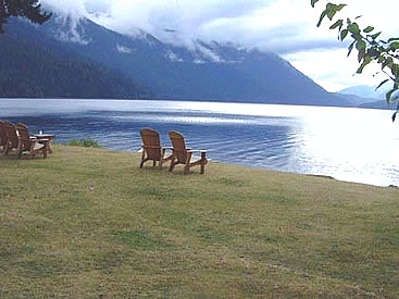 Lake Crescent is impossible to overlook as a traveler drives from Port  Angeles to the Western Coast and Forks. It is a lake with a strong  personality, ...